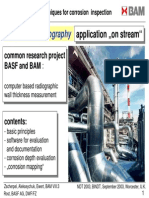 BASF-DR Techniques for Corrosion Inspection