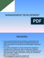 Management Development Programmes