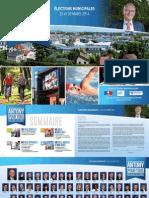 Programme Jean-Yves Sénant (liste Antony pour Tous) - Municipales 2014