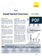 Retail Market Overview 1H 2012