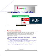Laser Lectures 1