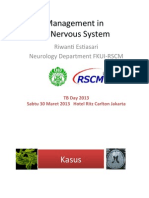 Management in TB Nervous System