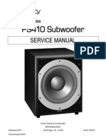 Subwoofer Infinity Ps410