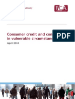 Consumer Credit Customers Vulnerable Circumstances