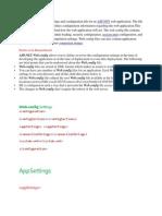 ASP.net Configurations