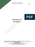 MiniGPS User Manual v1.7.1