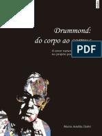 livro edufes Drummond, do corpo ao corpus o amor natural toma parte no projeto poético-pensante