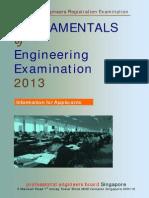 FUNDAMENTALS of Engineering Examination