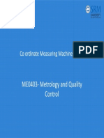 Co Ordinate Measuring Machine