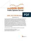 Reason-Rupe April 2014 National Telephone Poll