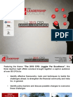 3rd Annual CFO Conclave Post Event Report