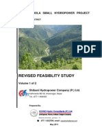 Revised Feasibility Report of Phawa Khola Hydropower Project