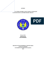 Artikel Pengembangan Media Pembelajaran Modul Interaktif Las Busur Manual Di Smk n 1 Sedayu
