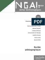 ¡ Venga ! Term. séries technologiques - Livre élève Format compact Ed. 2012