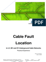 Cable Fault Location Practical Experience