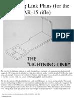 AR 15 Drop in Auto Sear DIAS Plans