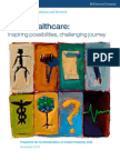 India Healthcare Inspiring Possibilities and Challenging Journ