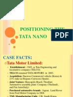 Positioning the Tata Nano