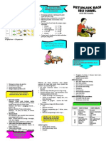 Leaflet Nutrisi Ibu Hamil