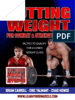 Cutting Weight Eric Talmant