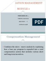 Compensation Management Mod 1