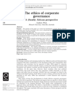 The Ethics of Corporate