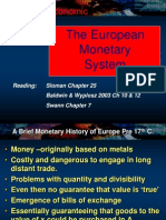 l7 the European Monetary System