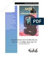 Administracion de Bases de Datos Con SQL Server 7 0 (2000)