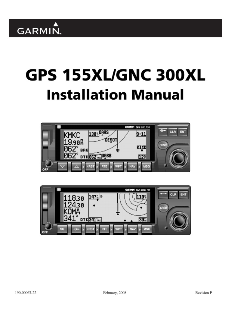 im gps155xl antenna  radio garmin 300xl installation manual Update Garmin 300XL