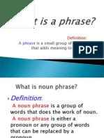 Noun Phrase t9