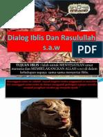 Dialog Iblis Dan Rasulullah s