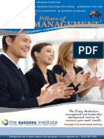 7 Pillars of Management Seminar Australia 2014