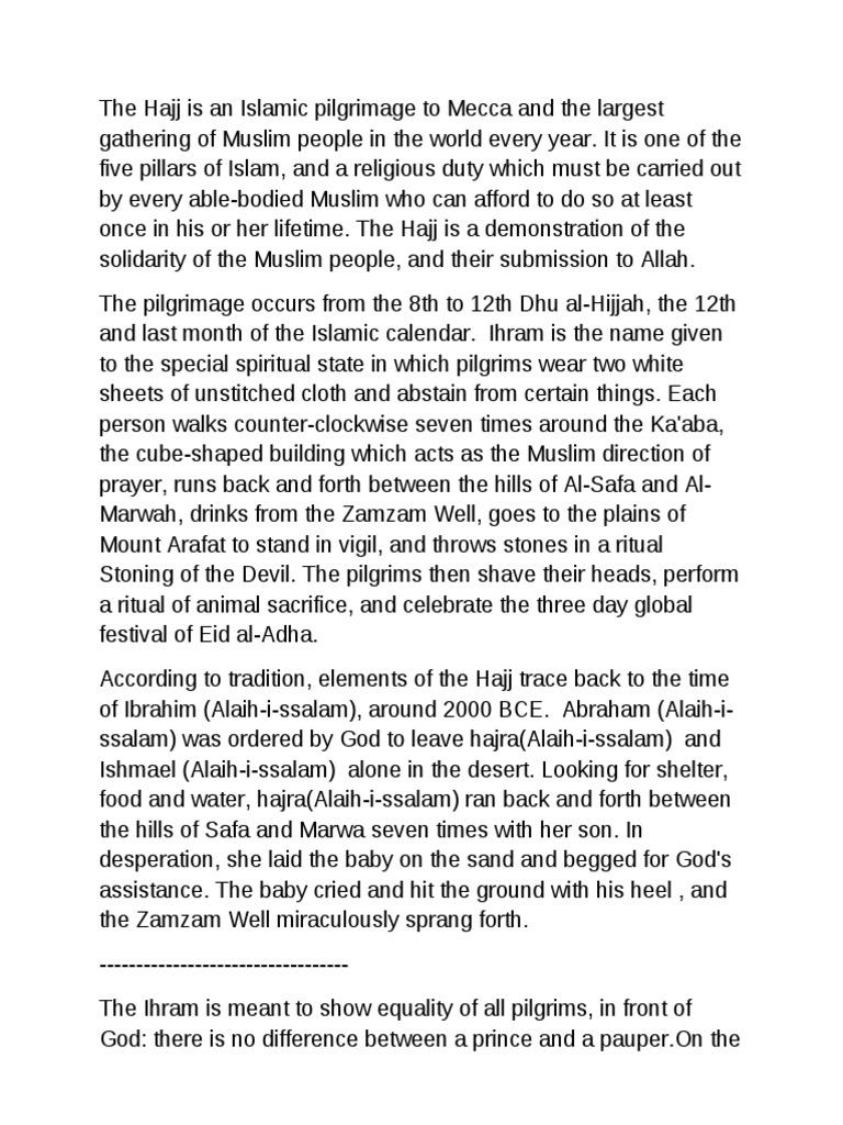 Health Care Essay Topics  Essays About English also Graduating From High School Essay A Short Essay On Hajj  Hajj  Islamic Behaviour And Experience Terrorism Essay In English