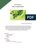 Narayani Notes on Single Remedies - PDF Version