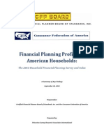 2013 Fin Planning Profiles of Amer Households
