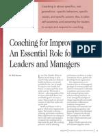 Coaching Quality