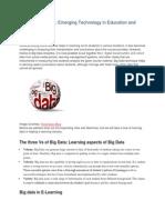 Big Data Analytics Emerging Technology in Education and Training.pdf