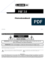 POD 2.0 Pilot's Guide - German ( Rev B )