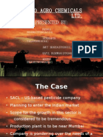 Siffco Agro Chemicals Ltd . Presented by: