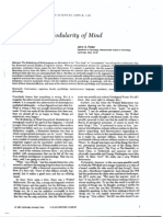 Fodor Modularity