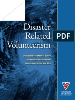 Best Practices Manual - Disaster Related Volunteerism-1