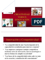 Creatividad Versus Innovacion Embudo