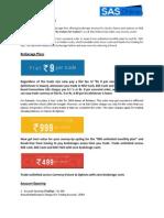 SAS Online Brief