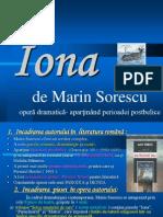 Iona - Drama postbelica