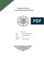Laporan Praktikum Ilmu dan Teknologi Susu dan Telur