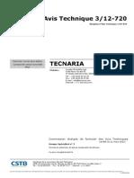 Tecnaria Avis Technique
