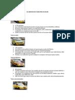 El Servicio de Taxis Por Su Color