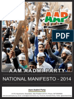 AAP National Manifesto 2014