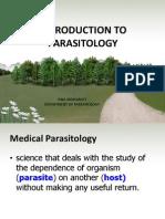 Intro Parasitology 2013