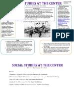social studies at the center